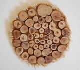 1点もの!ロシア製 檜の鍋敷きナチュラルスタイル!【ロシア雑貨】