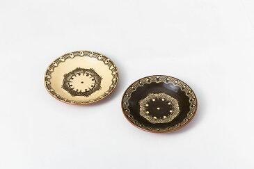 ブルガリア トロヤン陶器 モノトーンシリーズ小皿 プレート 小サイズ 直径18cm