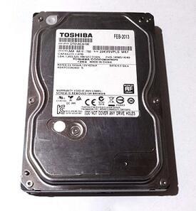 東芝 HDD 1TB 3.5インチ 内蔵型ハードディスクドライブ DT01ACA100 1.0TB 【中古】