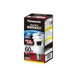 【在庫あり】 パナソニック パルックボール 電球型蛍光灯D60形 E26 電球色 EFD15EL/12EF