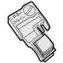 シャープ 掃除機サイクロンクリーナー用のブラシカバー右用 2171102217