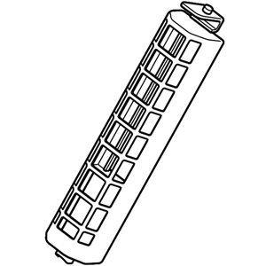 送料無料【在庫あり】 三菱 洗濯機用糸くずフィルター MAW-JF3(M10H45128,M10H65128) 送料無料