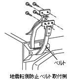 【あす楽】【在庫あり】 日立 冷蔵庫用地震転倒防止ベルト(1本) R-826CV-300