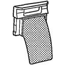 シャープ 洗濯機用糸くずフィルター 2103370178...