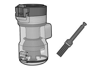 【在庫あり】 パナソニック 掃除機用ダストボックス(お手入れブラシ付き) AVV88K-QQ0S