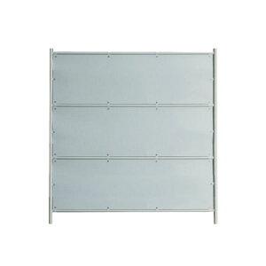 ガードフェンス 3段白板 1900×1800 ※法人様限定