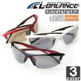 エルバランス【L-BALANCE】スポーツサングラス LBR-394 UVカット ランニング マラソン ゴルフ 野球 テニス スキー アイウェア 【メンズ】【レディース】