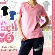 プーマ【PUMA】レディースエッセンシャル半袖Tシャツ5932051706ドライセルDrycellトップスウェアシャツトレーニングフィットネススポーツウィメンズ婦人