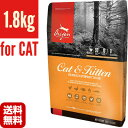 オリジン キャット&キトゥン 1.8kg オリジンジャパン ▽o ペット フード 猫 キャット 送料無料