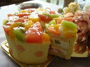 フルーツショート・デコ バースデイケーキ