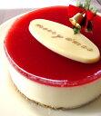 ヨーグルトとフランボワーズのクリスマスケーキ 【マラソン2011冬_食品】
