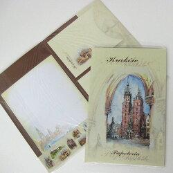 クラクフレターセット古都クラクフの街をスケッチ東欧雑貨