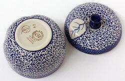 ポーランド陶器・食器・りんごポット