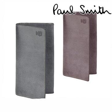 ポールスミス 長財布 長財布 二つ折り 名入れ 小銭入れあり 【Paul Smith メンズ レディース 送料無料 ブランド 正規品 新品 2019年 ギフト プレゼント】 J165 バーゲン