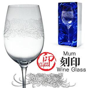 日本酒 グラス セット 名入れ和印GLASS Mum 大菊タイプ お中元 ギフト 記念日 プレゼント クリ...