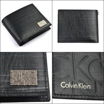 CalvinKleinカルバンクライン二つ折り財布財布牛革メンズ新作ブランドカルバンサイフカルバンクラインサイフカルバン832604