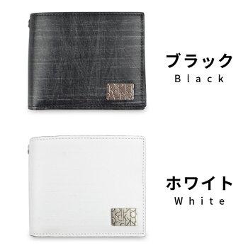 CalvinKleinカルバンクライン二つ折り財布財布牛革メンズ新作ブランド名入れカルバンサイフカルバンクラインサイフカルバン832604