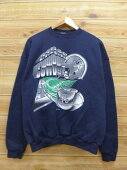 45811c1eb Dark blue American football Super Bowl in the L ☆ old clothes sweat shirt  90s made in NFL Dallas Cowboys USA
