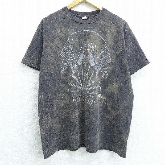 トップス, Tシャツ・カットソー  T 90 90s ART DECO USA spe XL T