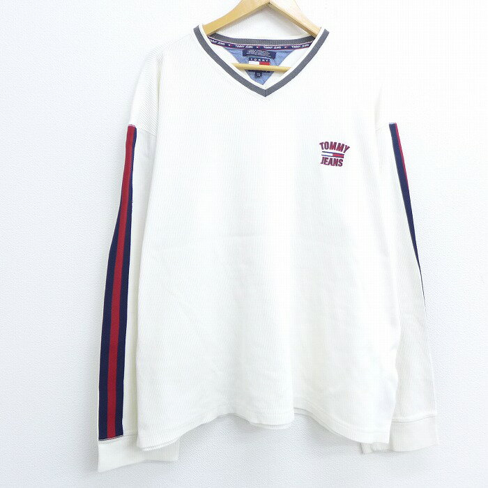 トップス, Tシャツ・カットソー  T 90 90s TOMMY HILFIGER 2L LL V XL 2OF