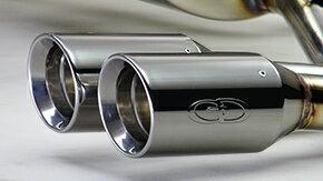 GANADORVertexSUSマフラー85φサークル(P.B.S搭載/左右4本出し)(GVE-031APO)【トヨタ純正MetallicStyle用】C-HRハイブリッド・型式/DAA-ZYX10
