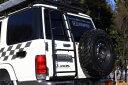 JAOS ブラックリヤラダー2 ランドクルーザー70系(再販車)