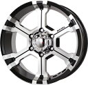 MK-36 Diacut Gloss Black (8.0Jx17 +25 6H139.7)