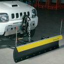 アイバワークス・スノープラウ 除雪機 排土板上下電動油圧式フラットタイプジムニー用【代引き不可】