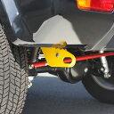 アピオ製 純正リアバンパー用牽引フック 穴あけ不要タイプ(スズキ・ジムニーシエラ JB43 純正リアバンパー用)
