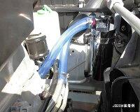 アルミ製オイルキャッチタンクJB23W装着例