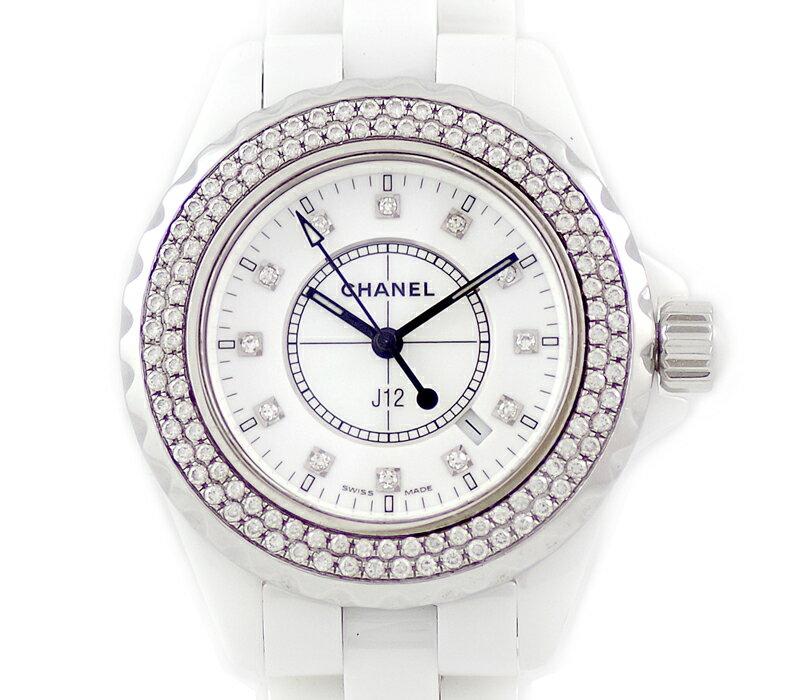 腕時計, レディース腕時計  CHANEL J12 33mm H1628 12P SS 6