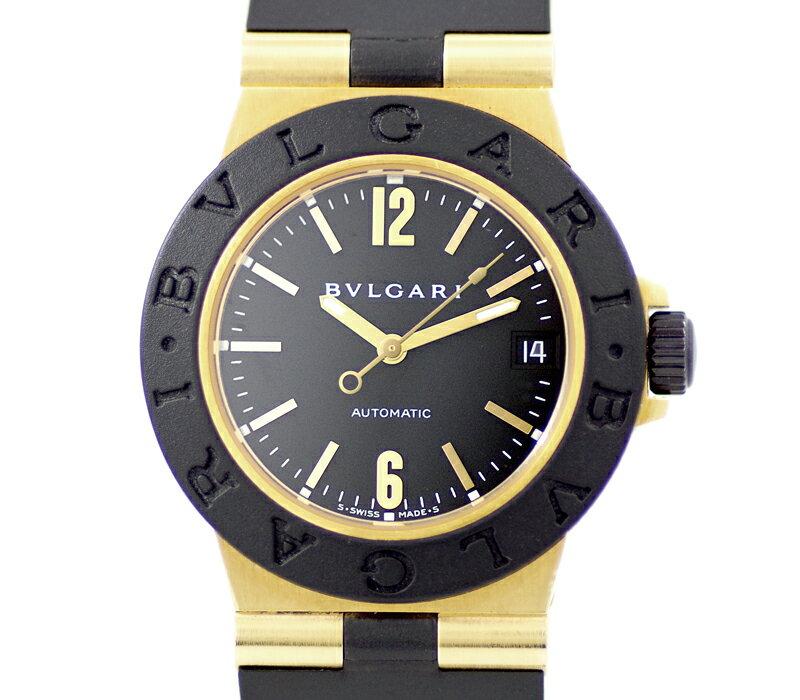 腕時計, 男女兼用腕時計 BVLGARI AL32G K18YG 6