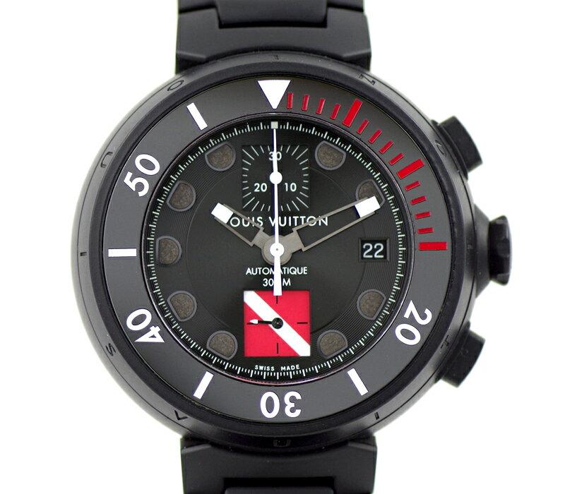 腕時計, メンズ腕時計 LOUIS VUITTON XL Q102F 300m SS 6