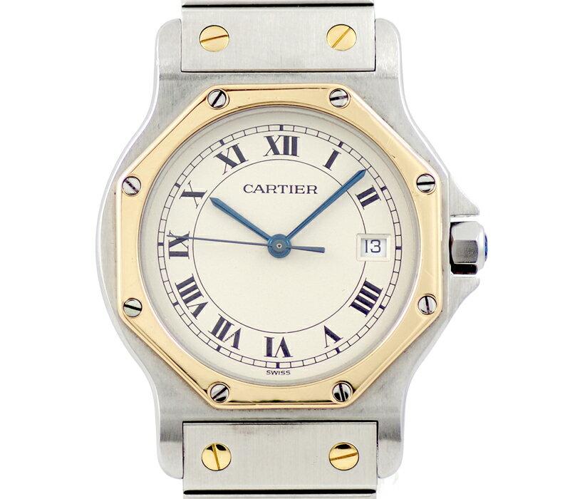 腕時計, メンズ腕時計  Cartier LM K18YG SS 6