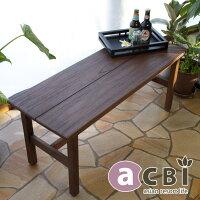 アジアン家具acbiチーク無垢木製ダイニングベンチスツールチェアACS210KA