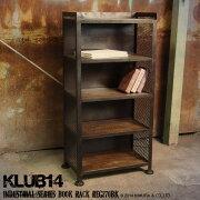 インダストリアル家具KLUB14収納ラックREG270BK