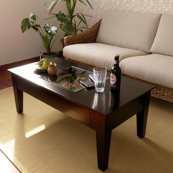 アジアン ウォーターヒヤシンス リビング テーブル シーグラス アジアン家具 ローテーブル アジアン アジアンテイスト ガラス コーヒー テーブル ナチュラル 一人暮らし テーブル アジアン家具 バリ T135AT