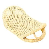 ひんやり心地良い籐舟形枕MA063