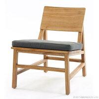 世界三大銘木のチーク材を使用したパーソナルチェア1P木製フレームですっきりしながら無垢材の気品漂うデザインのリビング椅子リネンを含んだ生地と天然無垢材がナチュラルテイストを演出BREEZEC181XPM
