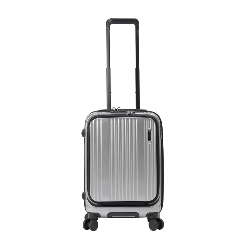 【販売】スーツケース 送料無料 TSAロック バーマス インターシティフロントオープン BERMAS INTERCITY 60500 (1〜3泊:Sサイズ:54cm/35L)