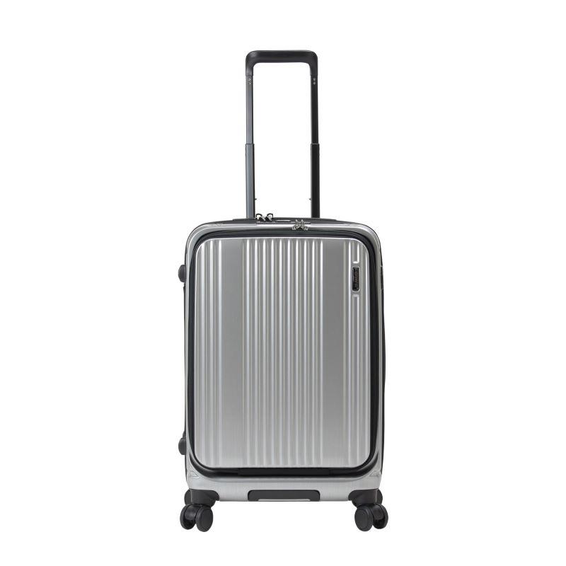 【販売】スーツケース 送料無料 TSAロック バーマス インターシティフロントオープン BERMAS INTERCITY 60501(3〜5泊:Mサイズ:63cm/53L)