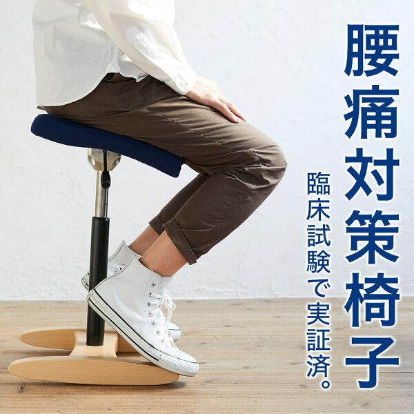 バランスシナジー(組立式)在宅勤務椅子在宅ワークチェアバランスチェア大人|腰痛対策椅子腰痛椅子体幹鍛える姿勢が良くなる椅子姿勢対