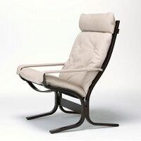 北欧家具/パーソナルチェア/椅子/いす/イス/シエスタハイバックアーム付きチェア