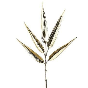 ★造花 観葉植物 お正月装飾 金竹スプレイ [LESP8680]