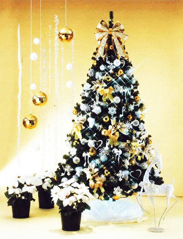 クリスマスツリー 限定 1セット Pearl Eleganceツリーセット 30%OFF [VOL031]
