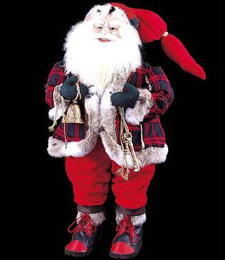 ★クリスマス装飾 飾り付け 小物 85cm スタンディングサンタウィズベル [DISA6837]