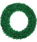 クリスマスリース装飾観葉植物防炎150cmニューノーブルリッチリース×680[PAWR6932]