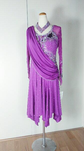 <レンタル>衣装 社交ダンス ドレス Lサイズz220