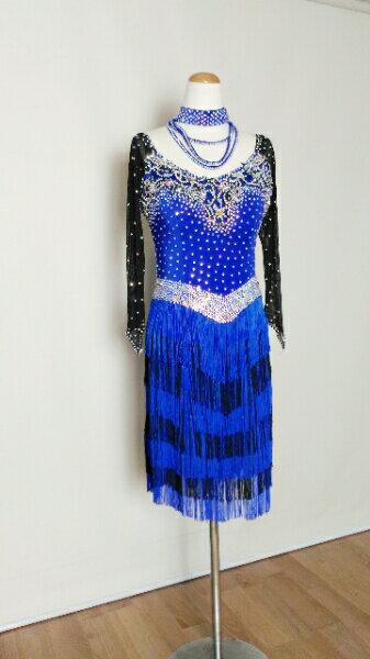 <レンタル>衣装 社交ダンス ドレス Lサイズz057