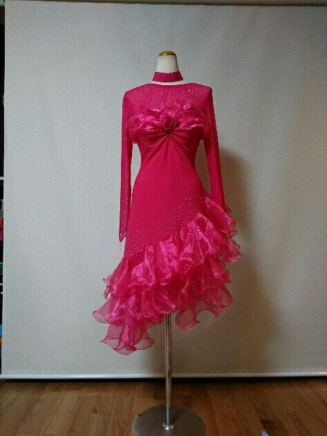 <レンタル>社交ダンス 衣装 ドレス フォーメーション r20